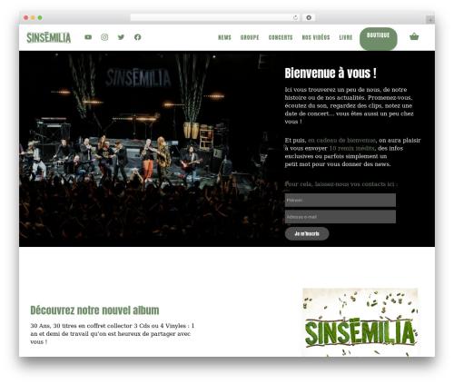 Divi theme WordPress - sinsemilia.com