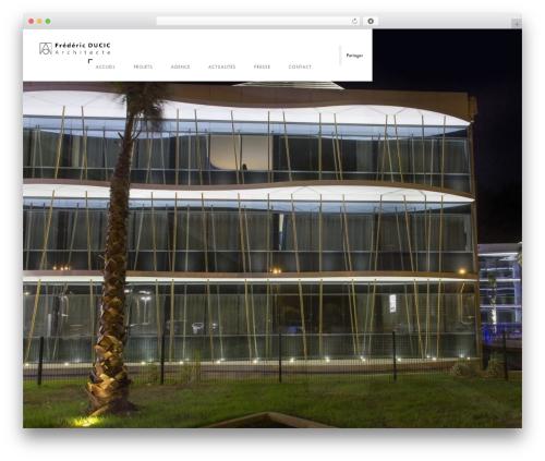 Domik premium WordPress theme - ducic-architecte.com