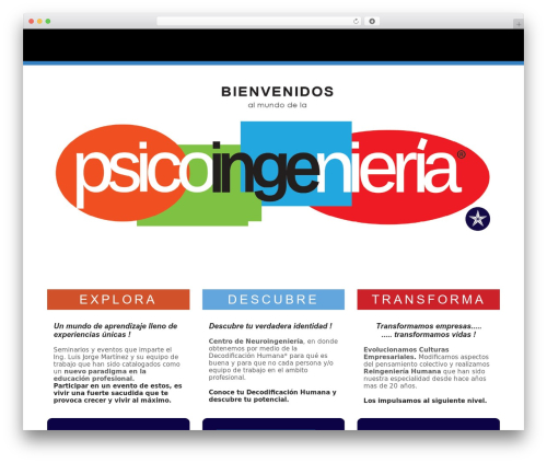 The8 WP template - luisjorge.com