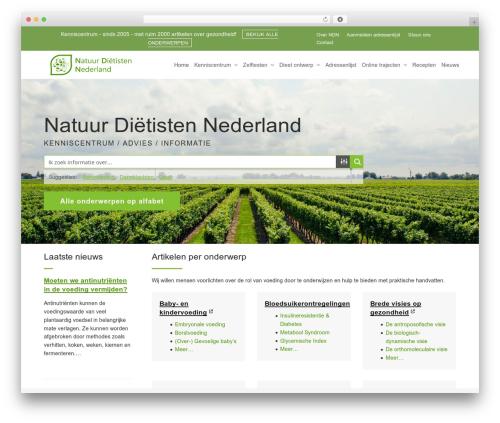 Total free WordPress theme - natuurdietisten.nl