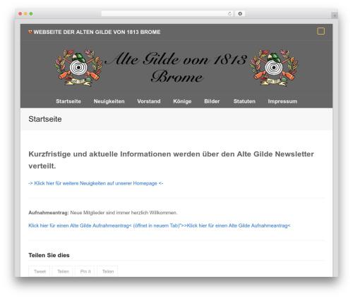 Total WordPress theme download - altegilde.de
