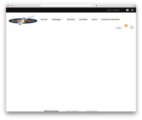 WordPress woocommerce_postfinancecw plugin - musicspace.ch