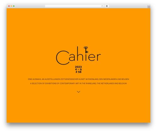 Free WordPress Custom Banners plugin - cahier-online.de