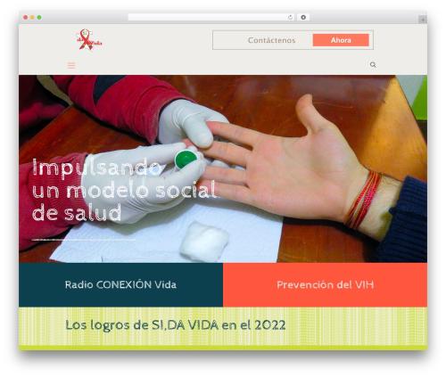 WordPress theme Betheme - sidavida.org.pe