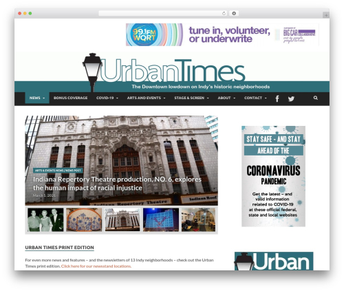 WordPress theme HitMag Pro - urbantimesonline.com