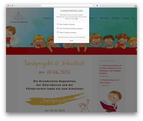 WordPress theme Total - grundschule-hugstetten.de