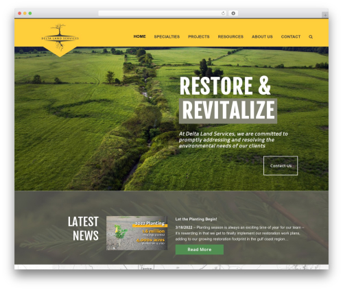 WP template Total - deltaland-services.com