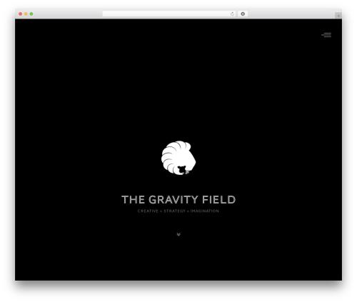 WP theme Ottar - thegravityfield.com