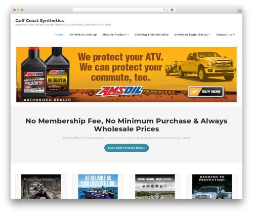Best WordPress template Shuttle Pro - gulfcoastsynthetics.com