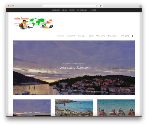 Best WordPress theme Arouse Pro - andelascepanovic.com
