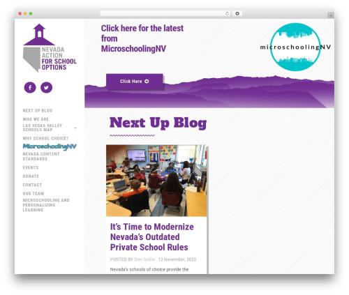 WordPress popup-press plugin - nevadaaction.org