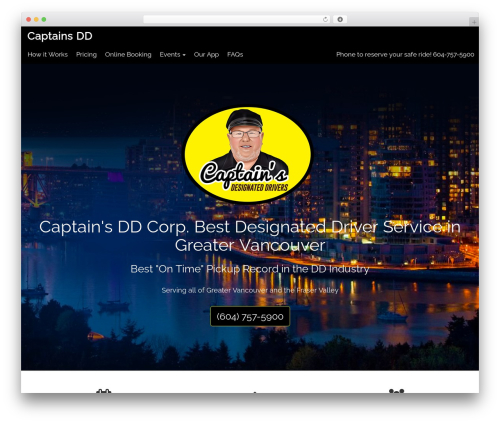 CITYscape WordPress website template - captainsdd.com