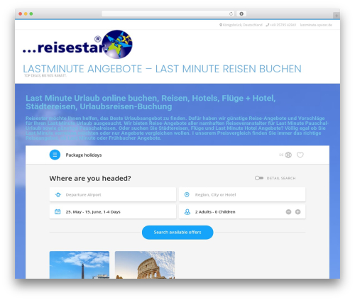 Conica free website theme - lastminute-sparer.de