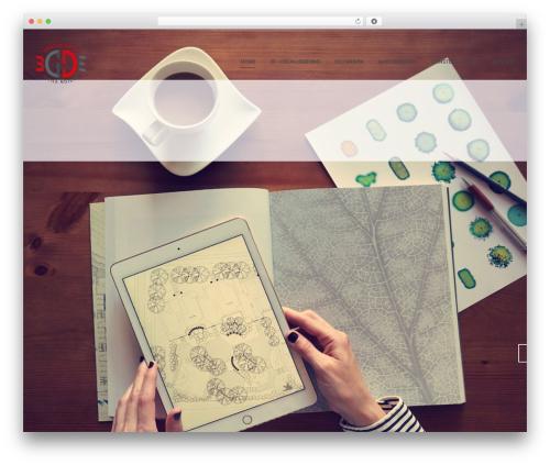 Dendrite WordPress website template - 3d-designstudio.ch
