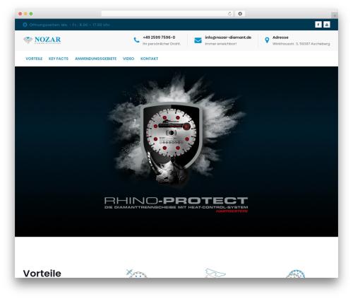 Doyle premium WordPress theme - rhinozaros.com