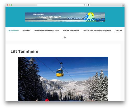 GeneratePress WordPress page template - lift-tannheim.at