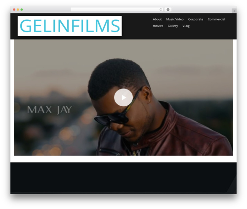 PBTheme v3.3.9 WordPress page template - gelinfilms.com