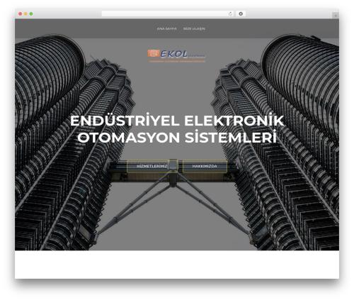 ResponsiveBoat WordPress theme - ekolelo.com