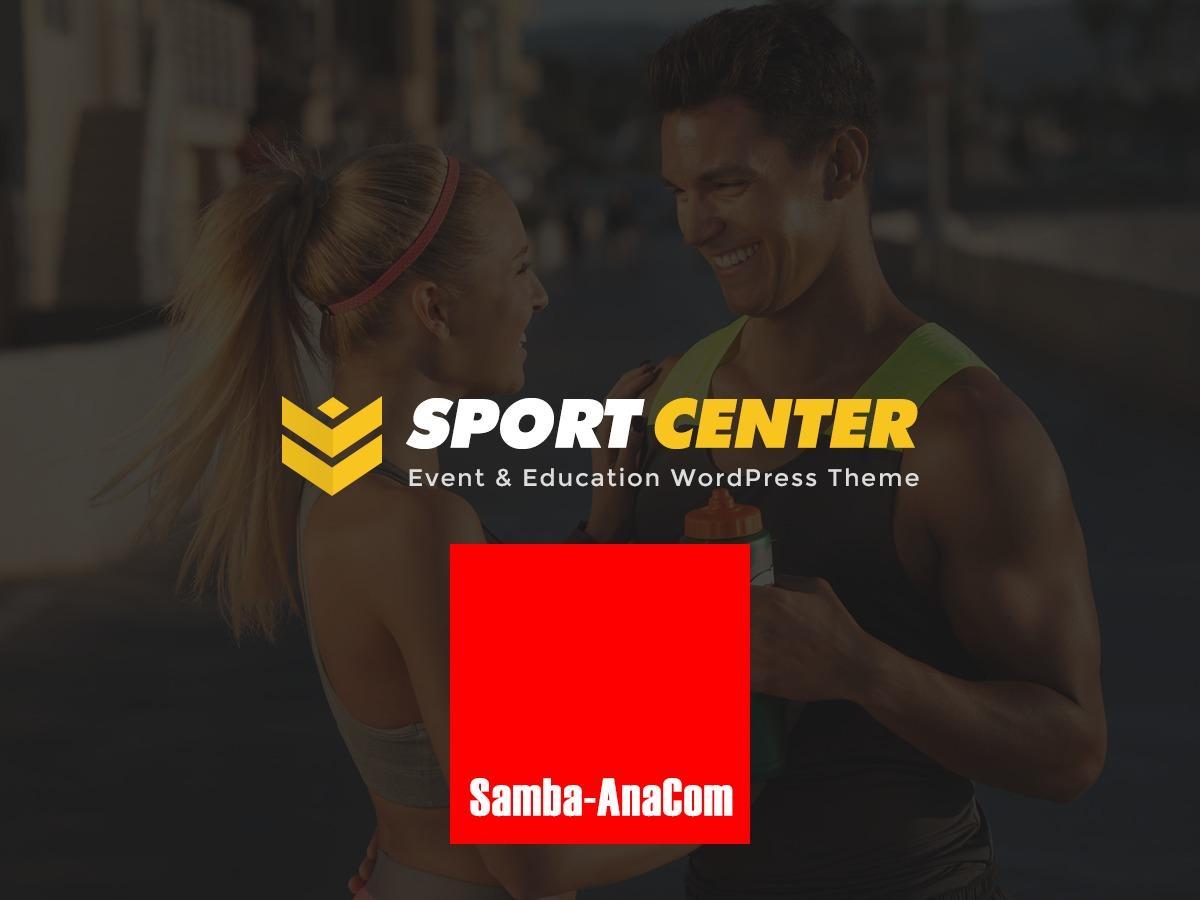 SportCenter gym WordPress theme