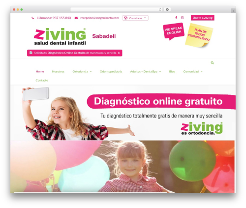 TheFox best WordPress template - zivingsabadell.com
