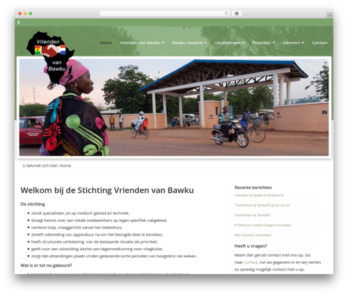 Theme WordPress theme001 - vriendenvanbawku.nl