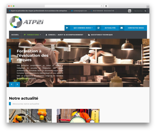 Theme WordPress WP Industry Theme - atp2i.com
