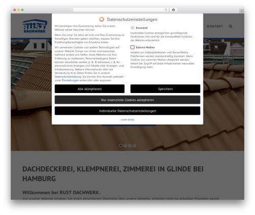 Total free website theme - dachwerk.com