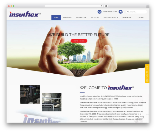 WordPress theme Ninja - insulflex.com.my