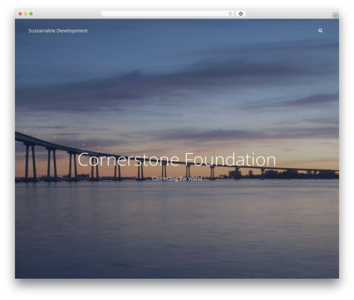 Adonis top WordPress theme - csfoundation.net