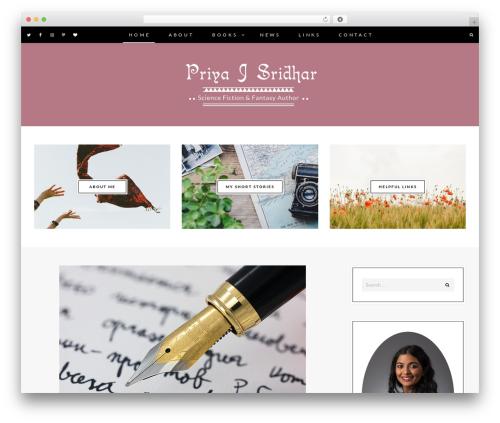 Berry WordPress theme - priyajsridhar.com