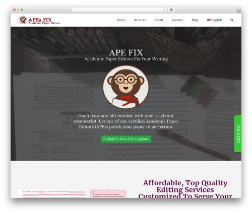 BizPoint best free WordPress theme - apefix.com