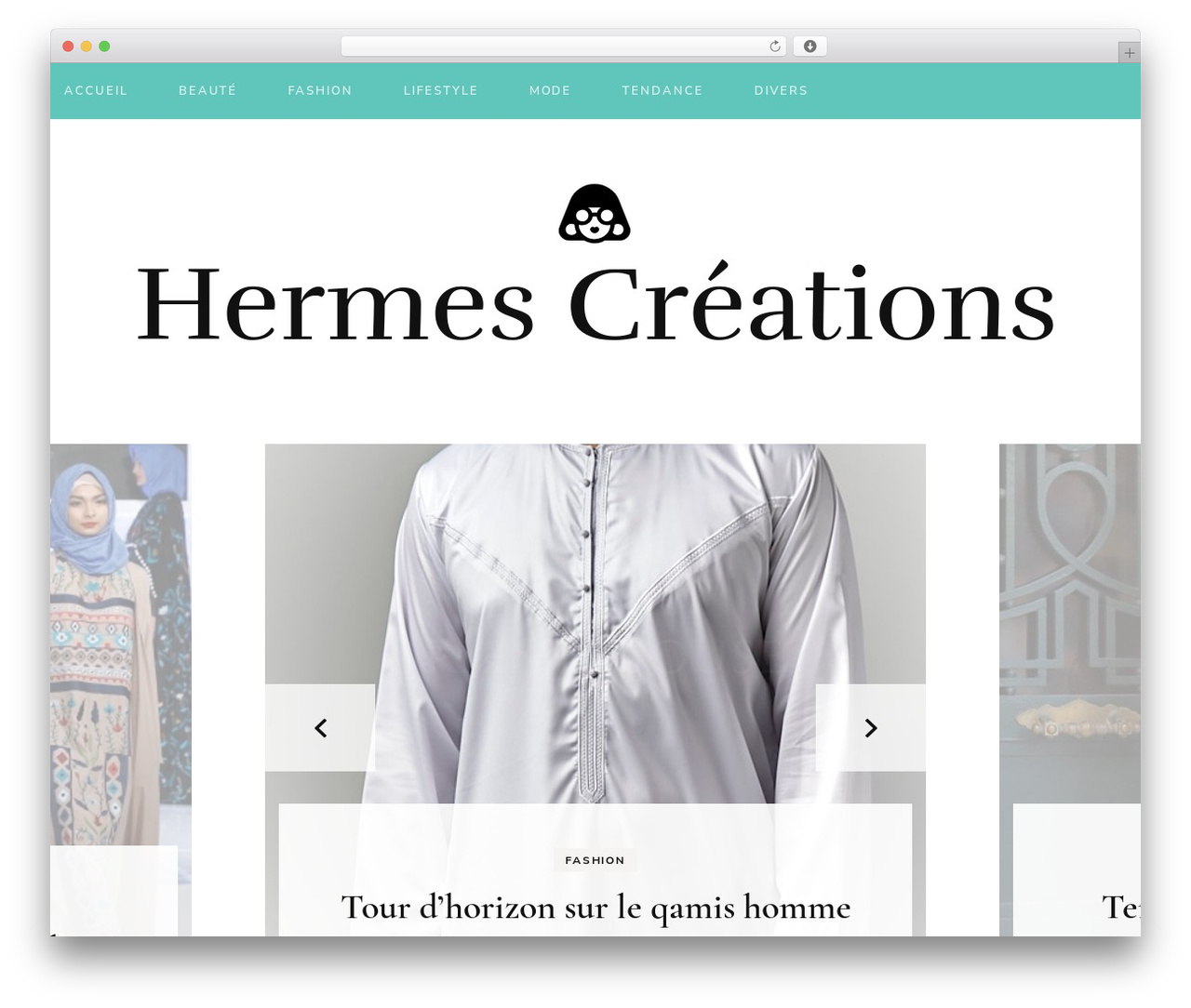 Blossom Fashion fashion WordPress theme - hermes-creations.fr