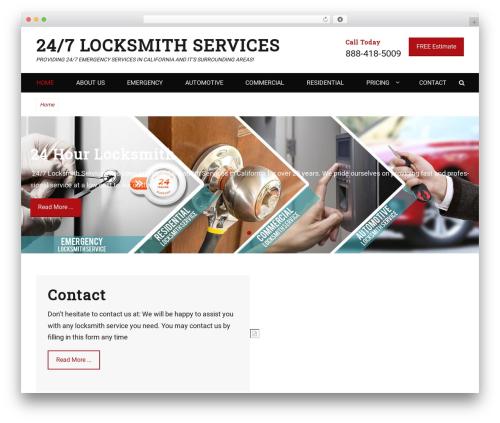 Decree best free WordPress theme - locksmith247services.com