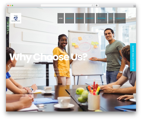 EasyWeb company WordPress theme - downriverwebdesigner.com