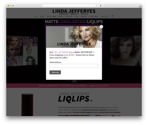 Edena WordPress theme - lindajefferyes.com