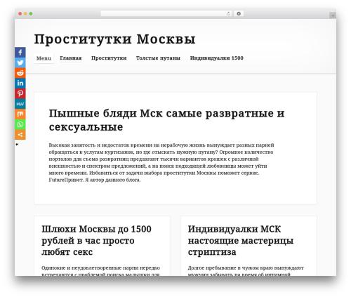 Embla theme WordPress - pojdem-v-muzej.ru