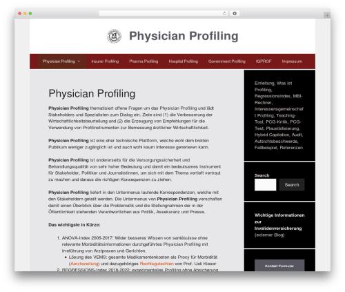 GeneratePress WordPress template free download - physicianprofiling.ch
