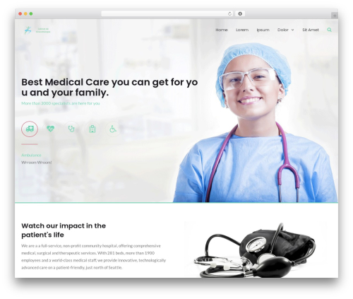 MedZone Lite WordPress theme download - crottefunding.com