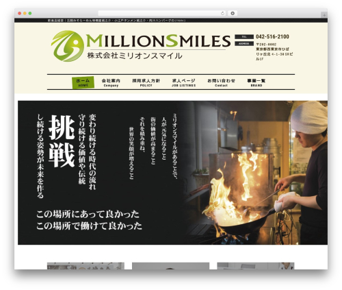 mrp08 WordPress template - millionsmiles.com