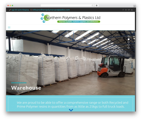 WordPress popup-press plugin - northernpolymersandplastics.com
