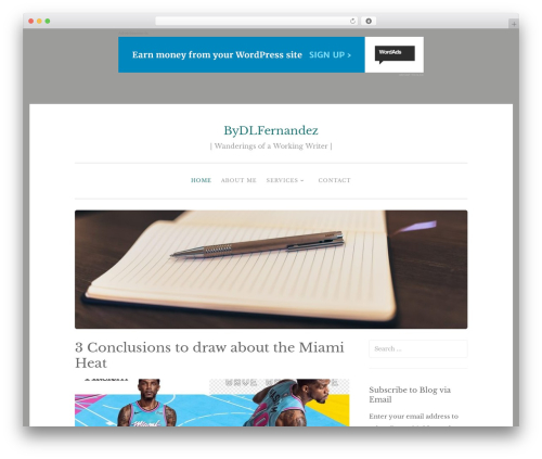 Penscratch 2 theme WordPress - bydlfernandez.com