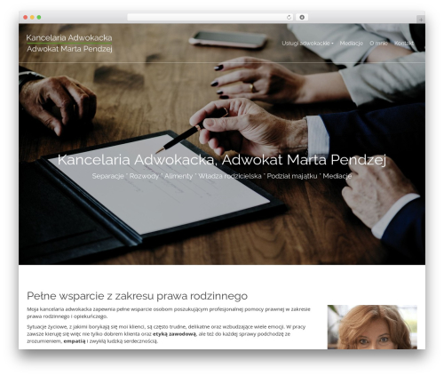 Pinnacle free website theme - kancelaria-krakow.com