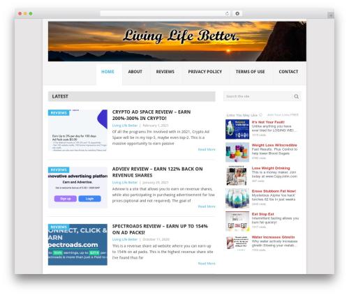 Free WordPress Custom Banners plugin - livinglifebetter.net