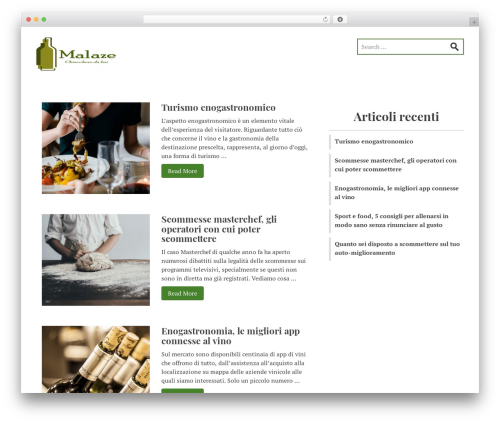 Stucco free WP theme - malaze.org