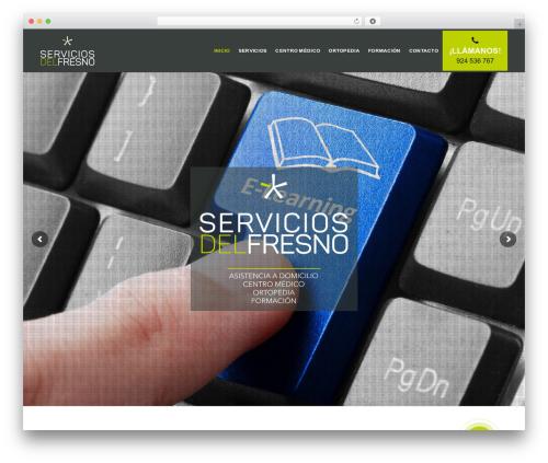 Template WordPress EasyWeb - serviciosdelfresno.es