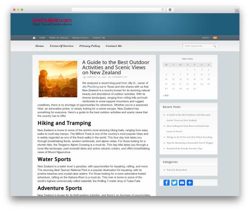 Template WordPress Headlines (Provided by Zazavy.com) - beerbulletin.com