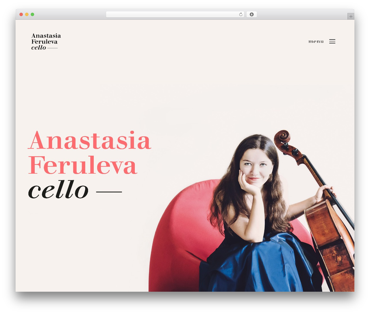 Theme WordPress Revolution - anastasiaferuleva.com