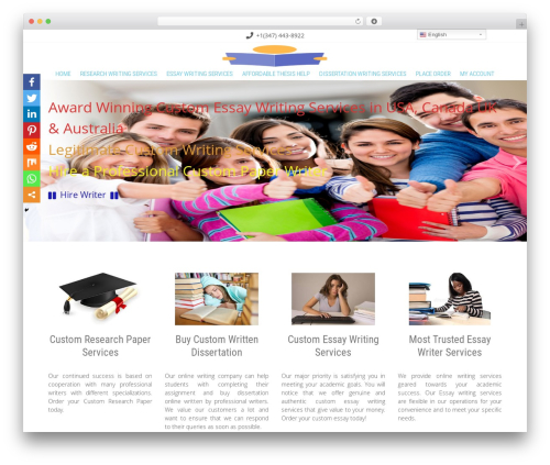 WordPress theme Innovation Extend - academicwritingtips.org