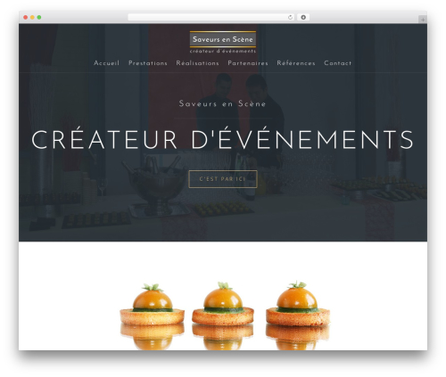 Astrid template WordPress free - saveurs-en-scene.com