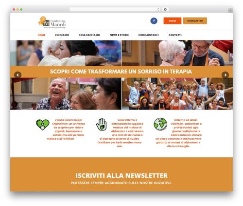 Charity Is Hope premium WordPress theme - fondazione-manuli.org